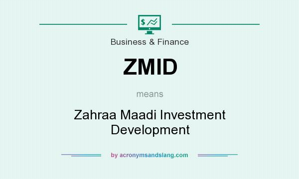 What does ZMID mean? It stands for Zahraa Maadi Investment Development
