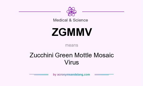 What does ZGMMV mean? It stands for Zucchini Green Mottle Mosaic Virus