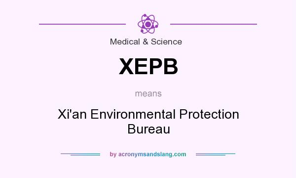 What does XEPB mean? It stands for Xi`an Environmental Protection Bureau