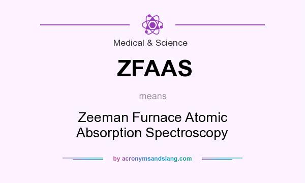 What does ZFAAS mean? It stands for Zeeman Furnace Atomic Absorption Spectroscopy