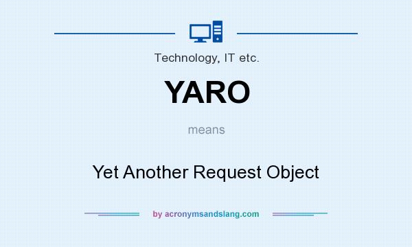 What does YARO mean? It stands for Yet Another Request Object