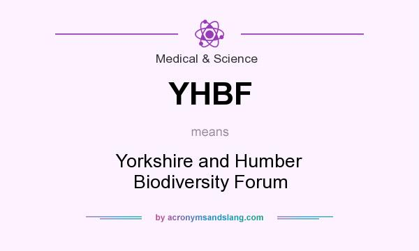 What does YHBF mean? It stands for Yorkshire and Humber Biodiversity Forum