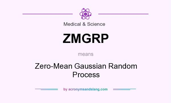 What does ZMGRP mean? It stands for Zero-Mean Gaussian Random Process
