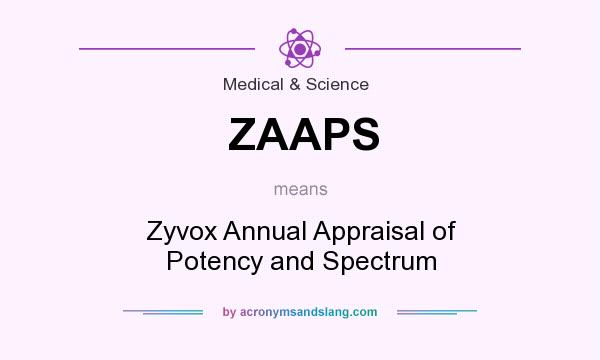 What does ZAAPS mean? It stands for Zyvox Annual Appraisal of Potency and Spectrum
