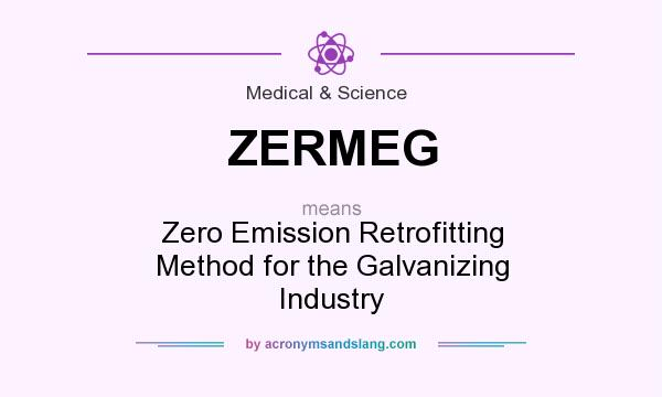 What does ZERMEG mean? It stands for Zero Emission Retrofitting Method for the Galvanizing Industry