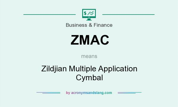 What does ZMAC mean? It stands for Zildjian Multiple Application Cymbal