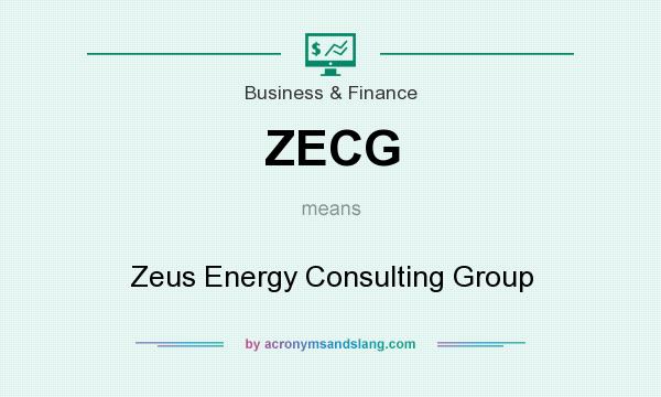 What does ZECG mean? It stands for Zeus Energy Consulting Group