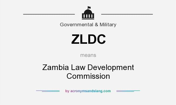 What does ZLDC mean? It stands for Zambia Law Development Commission