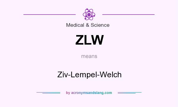 What does ZLW mean? It stands for Ziv-Lempel-Welch