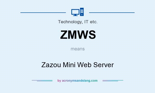 What does ZMWS mean? It stands for Zazou Mini Web Server