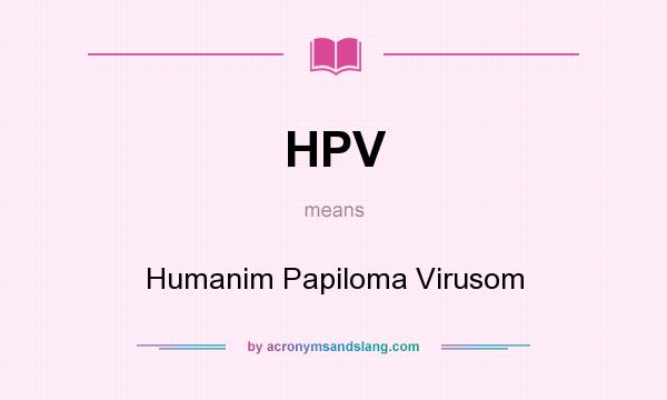 Hpv acronym meaning. Book Terminolog 2