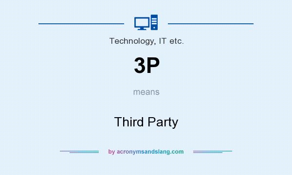 What does 3P mean? It stands for Third Party