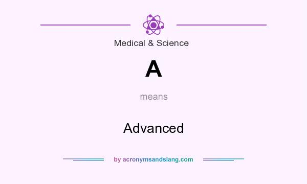 What does A mean? It stands for Advanced