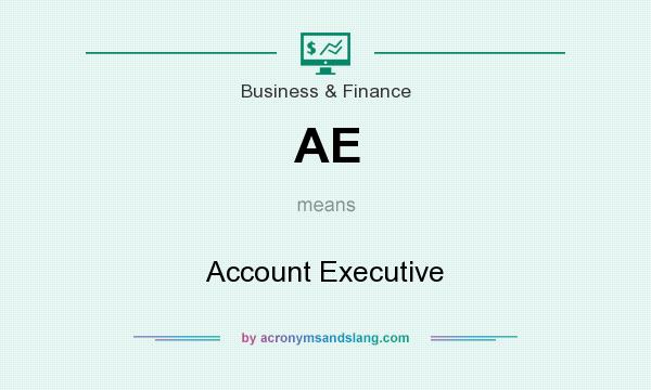 What does AE mean? It stands for Account Executive