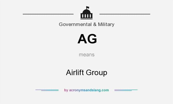 What does AG mean? It stands for Airlift Group