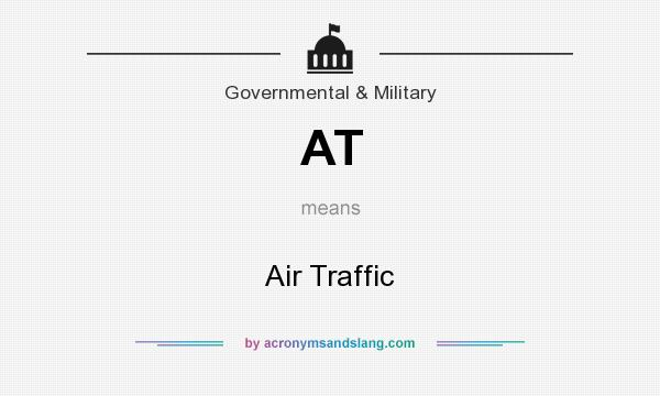 What does AT mean? It stands for Air Traffic