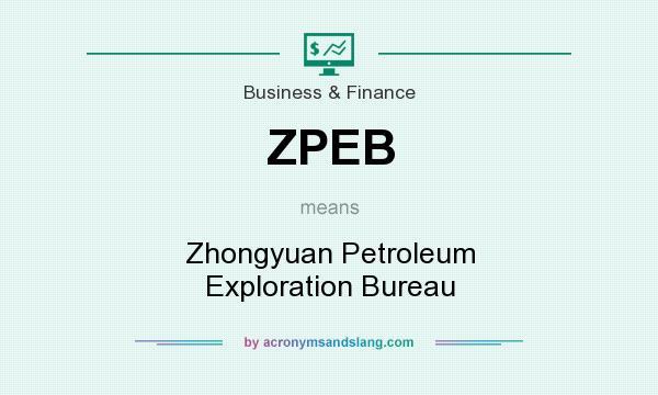 What does ZPEB mean? It stands for Zhongyuan Petroleum Exploration Bureau