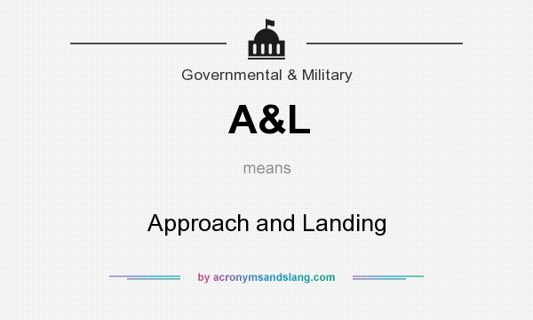 What does A&L mean? It stands for Approach and Landing