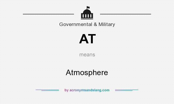 What does AT mean? It stands for Atmosphere