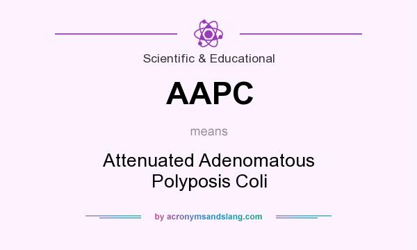 What does AAPC mean? It stands for Attenuated Adenomatous Polyposis Coli