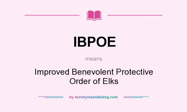 What is the meaning of benevolent