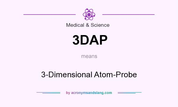 What does 3DAP mean? It stands for 3-Dimensional Atom-Probe