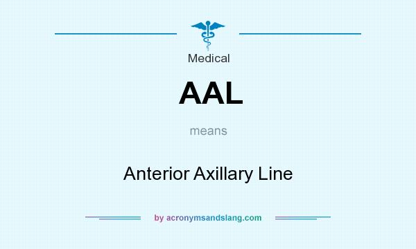 What does AAL mean? It stands for Anterior Axillary Line