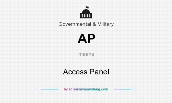 What does AP mean? It stands for Access Panel