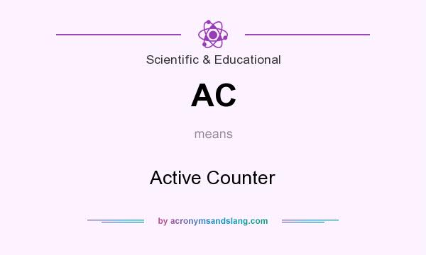 What does AC mean? It stands for Active Counter
