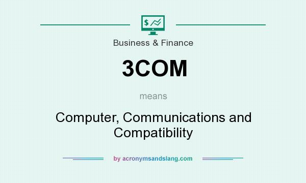 What does 3COM mean? It stands for Computer, Communications and Compatibility