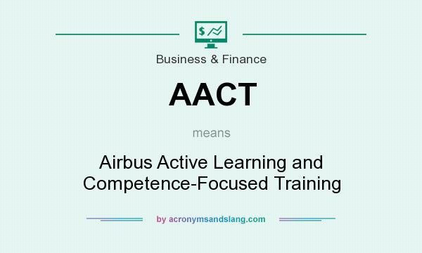 What does AACT mean? It stands for Airbus Active Learning and Competence-Focused Training