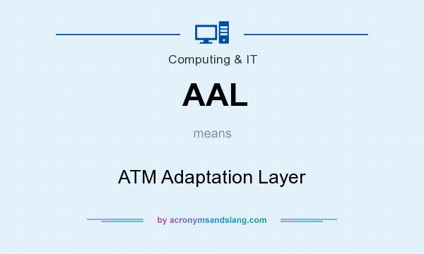 What does AAL mean? It stands for ATM Adaptation Layer