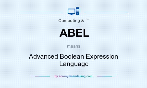 ABEL - Advanced Boolean Expres...