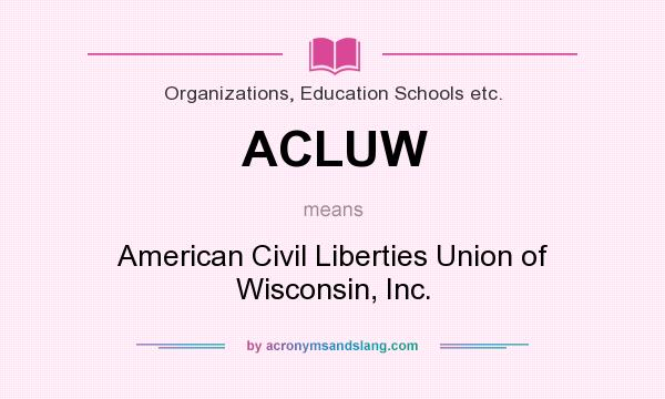 an analysis of the american civil liberties union This is the website of the american civil liberties union of nevada and the aclu of nevada foundation learn more about these two components of the aclu.