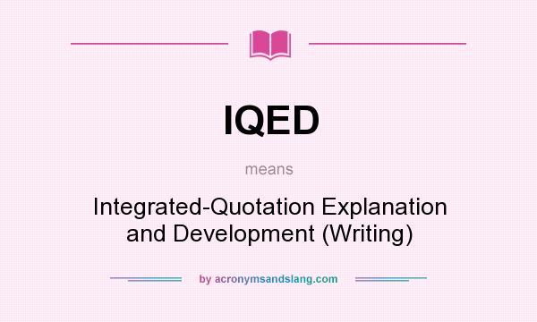 integrative essay define