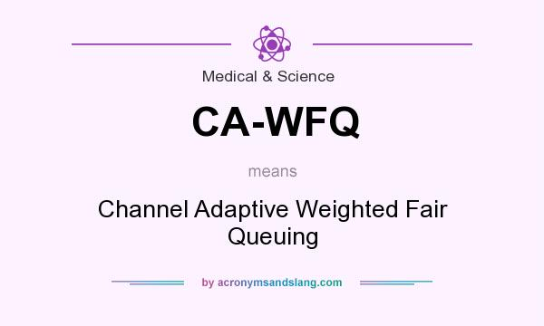 What does CA-WFQ mean? It stands for Channel Adaptive Weighted Fair Queuing
