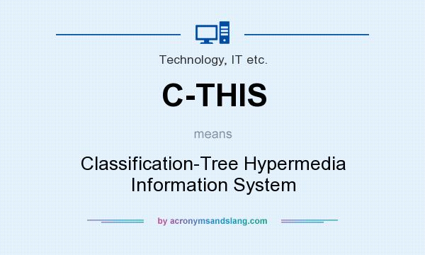 What does C-THIS mean? It stands for Classification-Tree Hypermedia Information System