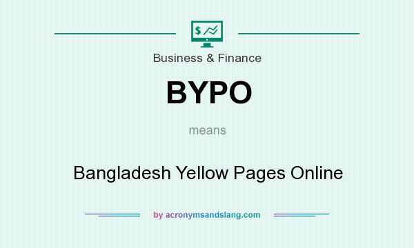 What does BYPO mean? - Definition of BYPO - BYPO stands for