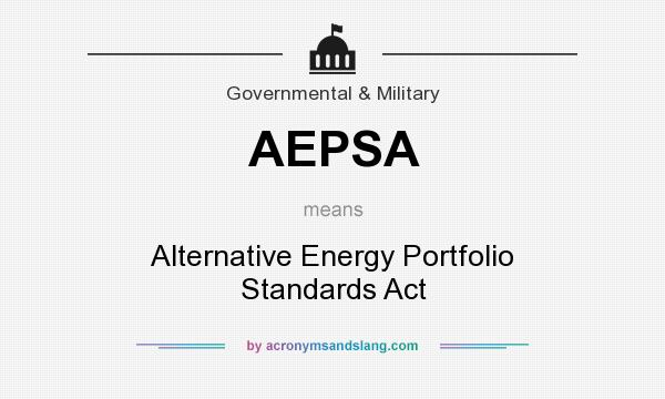 the deregulation and alternative energy portfolio standards For residents of philadelphia with choose energy,  energy deregulation in philadelphia has  alternative energy portfolio standards require this.