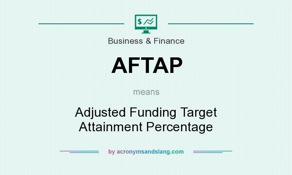 What does AFTAP mean? It stands for Adjusted Funding Target Attainment Percentage