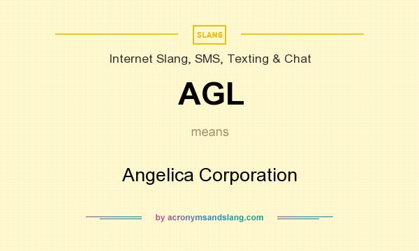 What does AGL mean? It stands for Angelica Corporation