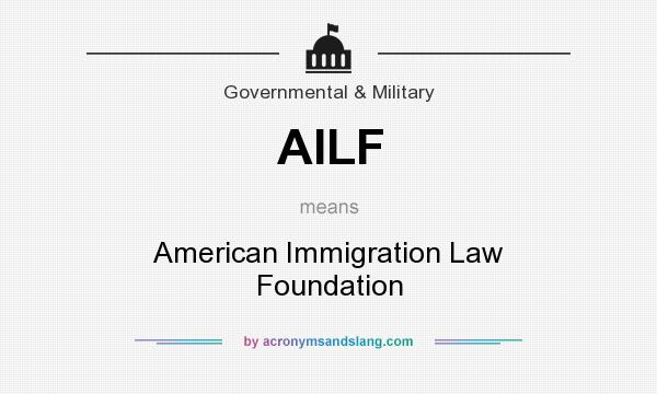 AMERICAN IMMIGRATION LAW FOUNDATION