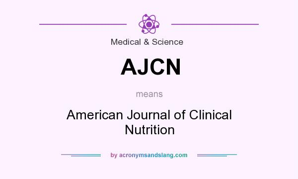american journal of clinical nutrition