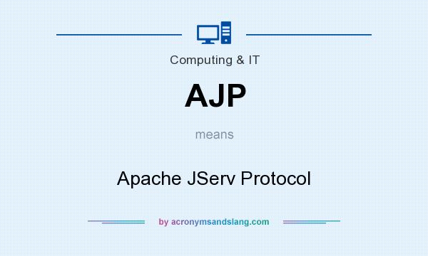 What does AJP mean? It stands for Apache JServ Protocol