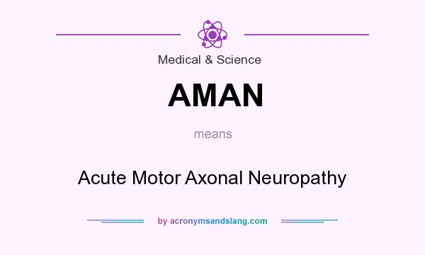 AMAN - Acute Motor Axonal Neuropathy in Medical & Science by AcronymsAndSlang.com