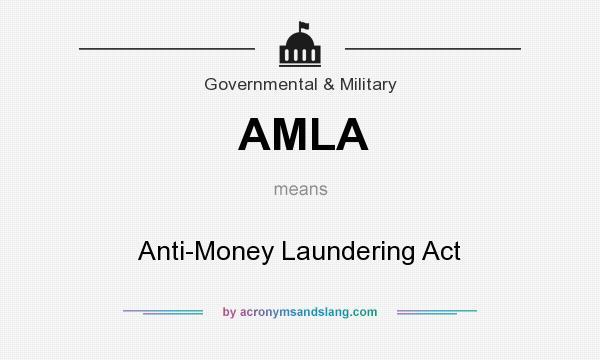 money laundering act