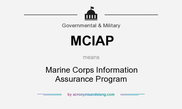 the marine corps information assurance program essay Marine corps, navy  chemical defense training facility essay:: 10 soldier's being able to have assurance that their equipment is more than capable of.