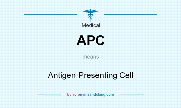 What does APC mean? It stands for Antigen-Presenting Cell