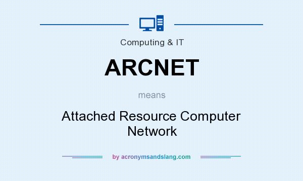 What does ARCNET mean? It stands for Attached Resource Computer Network