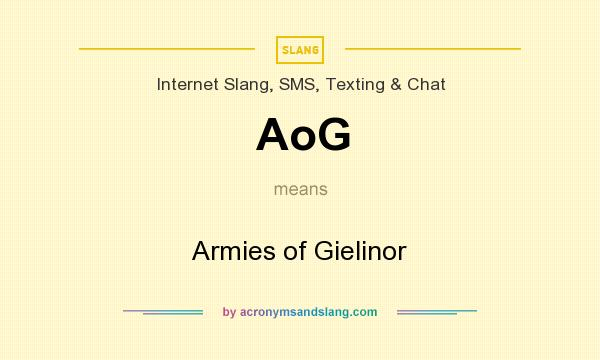 What does AoG mean? It stands for Armies of Gielinor